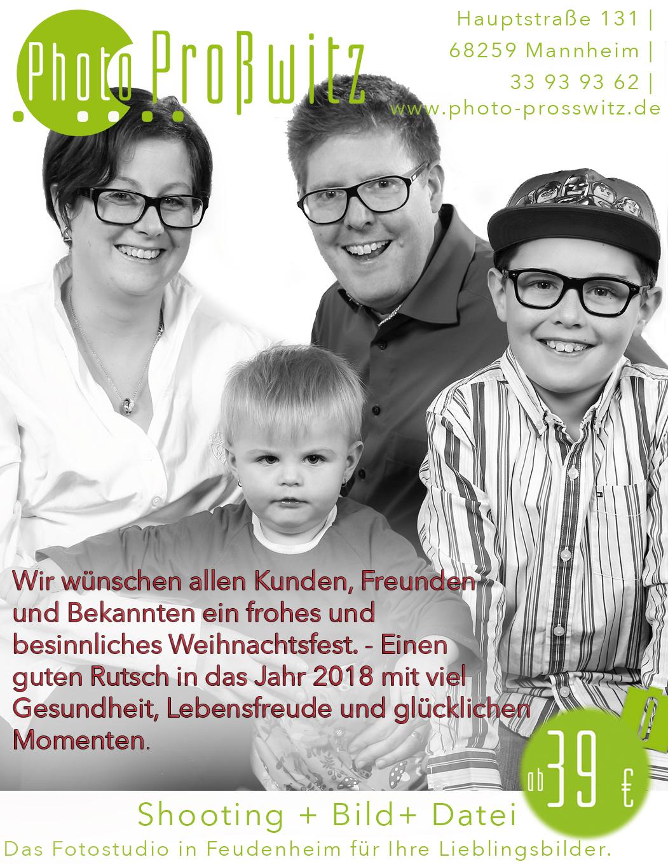 Photo-Proßwitz Weihnachtsgruß