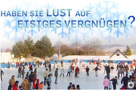 Einladung zum Eislaufen