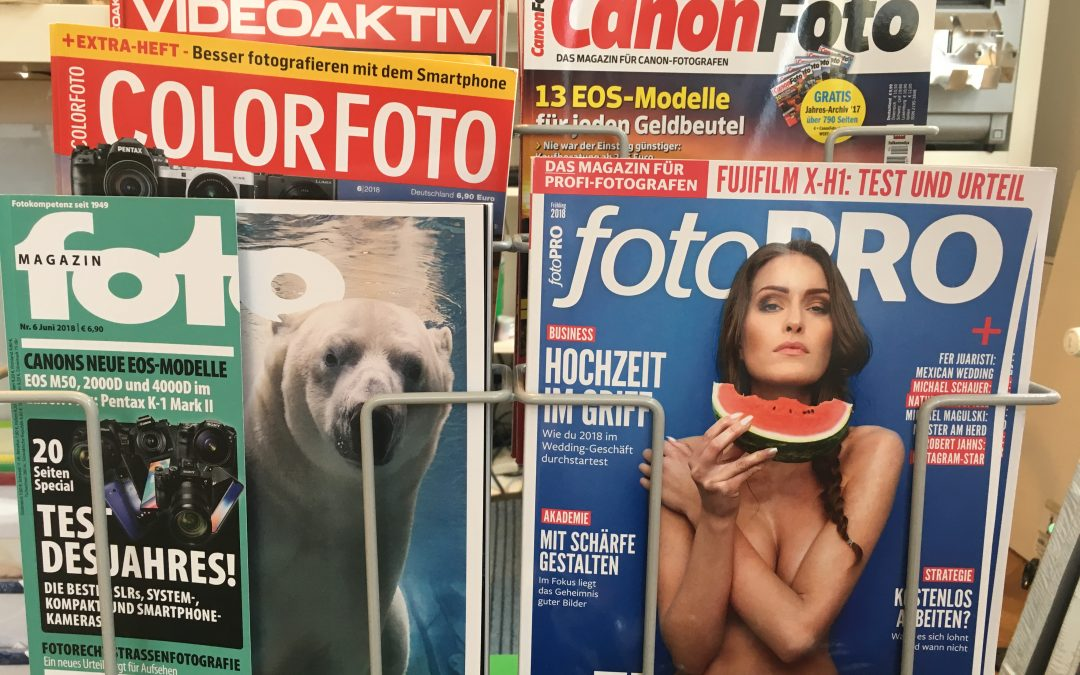 Aktuelle Fotomagazine