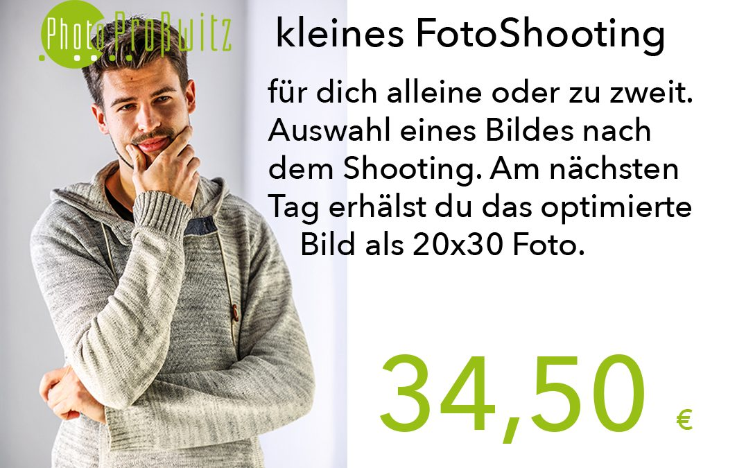 kleines FotoShooting